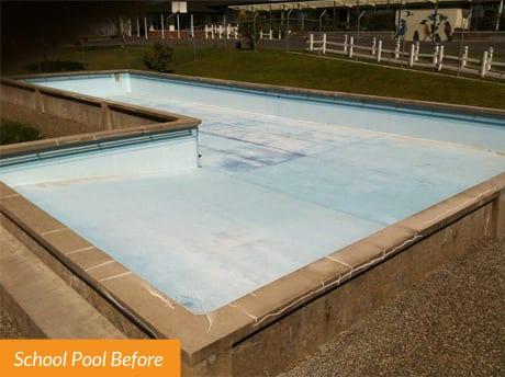 Chelsa Pool Before