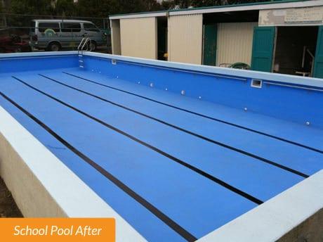 Flanshaw School Pool After