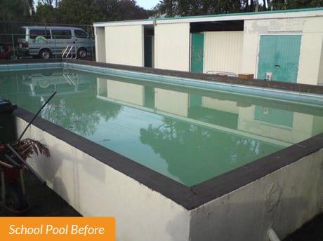 Flanshaw School Pool before