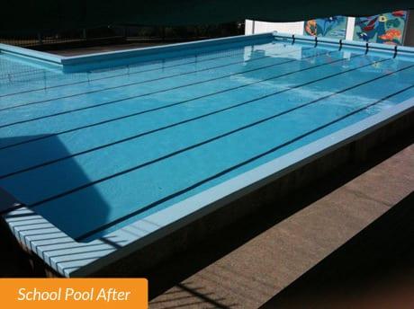 Glen Eden School Pool Before
