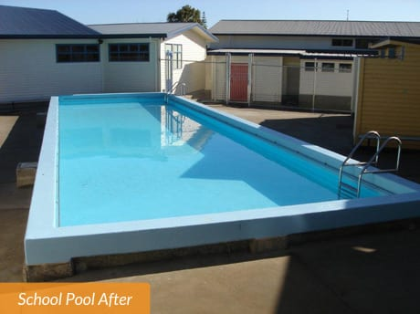 Kaurilands School Pool After