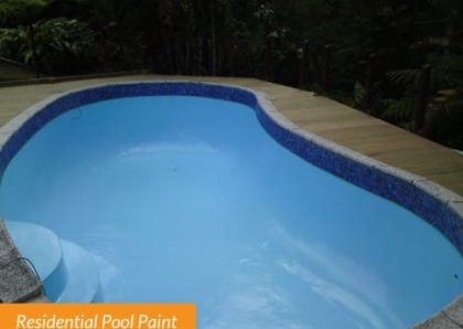 Residential Pool Paint