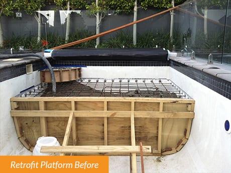 Retrofit Platform Before
