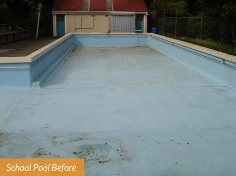 Titirangi School Pool Before