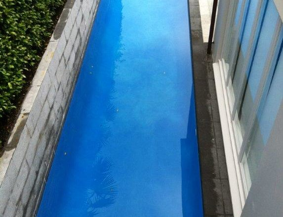 Lap Pool Domestic replaster after