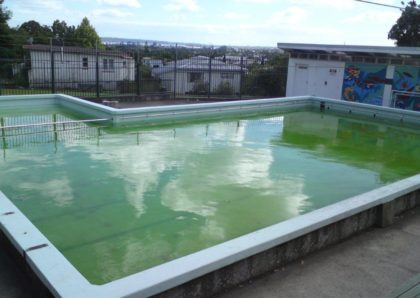 Glen Eden School Pool Before