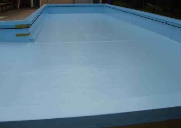 Titirangi Primary school pool after paint