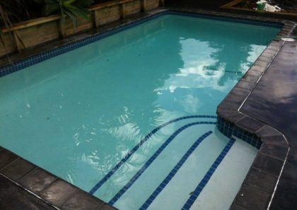 Residential pool renovation