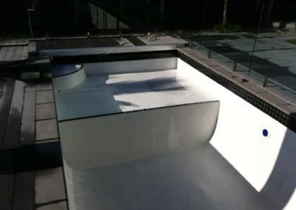 Retrofit Platform for Pool After