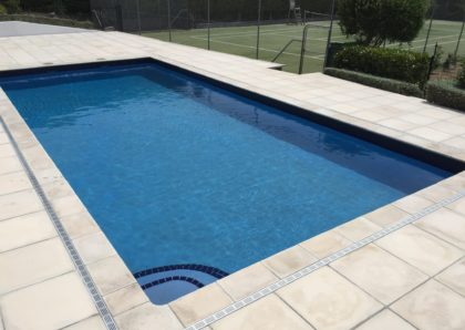pool and surrounds renovation - after