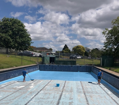 Pool Painting - What We Do
